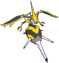 Naganadel Shiny sprite from Ultra Sun & Ultra Moon