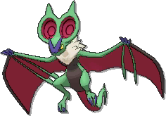 Noivern Shiny sprite from Ultra Sun & Ultra Moon