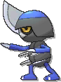 Pawniard Shiny sprite from Ultra Sun & Ultra Moon