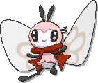 Ribombee Shiny sprite from Ultra Sun & Ultra Moon