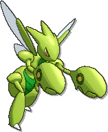 Scizor Shiny sprite from Ultra Sun & Ultra Moon