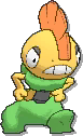 Scrafty Shiny sprite from Ultra Sun & Ultra Moon