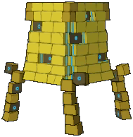 Stakataka Shiny sprite from Ultra Sun & Ultra Moon