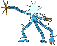 Xurkitree Shiny sprite from Ultra Sun & Ultra Moon
