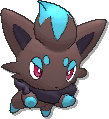 Zorua Shiny sprite from Ultra Sun & Ultra Moon