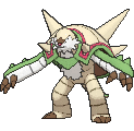 Chesnaught  sprite from X & Y