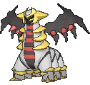 Giratina  sprite from X & Y