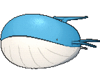 Wailord  sprite from X & Y