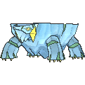 Avalugg Shiny sprite from X & Y