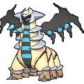 Giratina Shiny sprite from X & Y