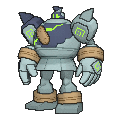 Golurk Shiny sprite from X & Y