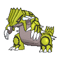 Groudon Shiny sprite from X & Y