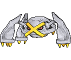 Metagross Shiny sprite from X & Y