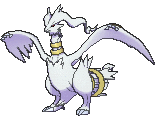 Reshiram Shiny sprite from X & Y