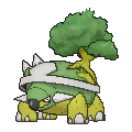Torterra Shiny sprite from X & Y